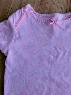 Mothercare baby girl bodysuit