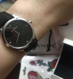 Authentic Pandora Silver Fleur Watch