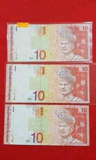 Rm10 Malaysia 1996