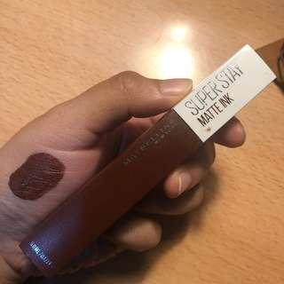 [REPRICE] Maybelline Super Stay Matte Ink (85 Protector)