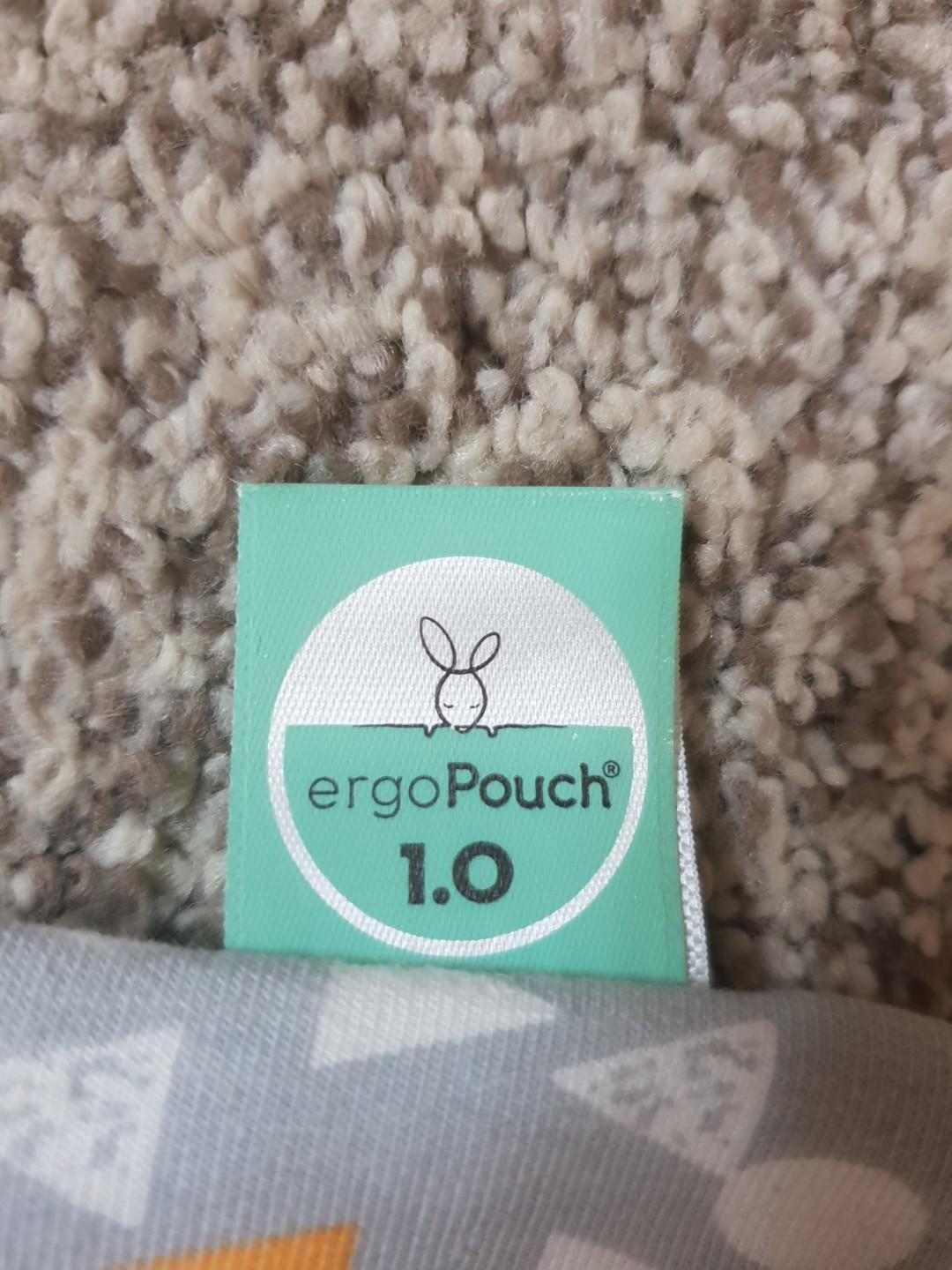 $30 Ergo pouch sleepsuit 0 to 3months