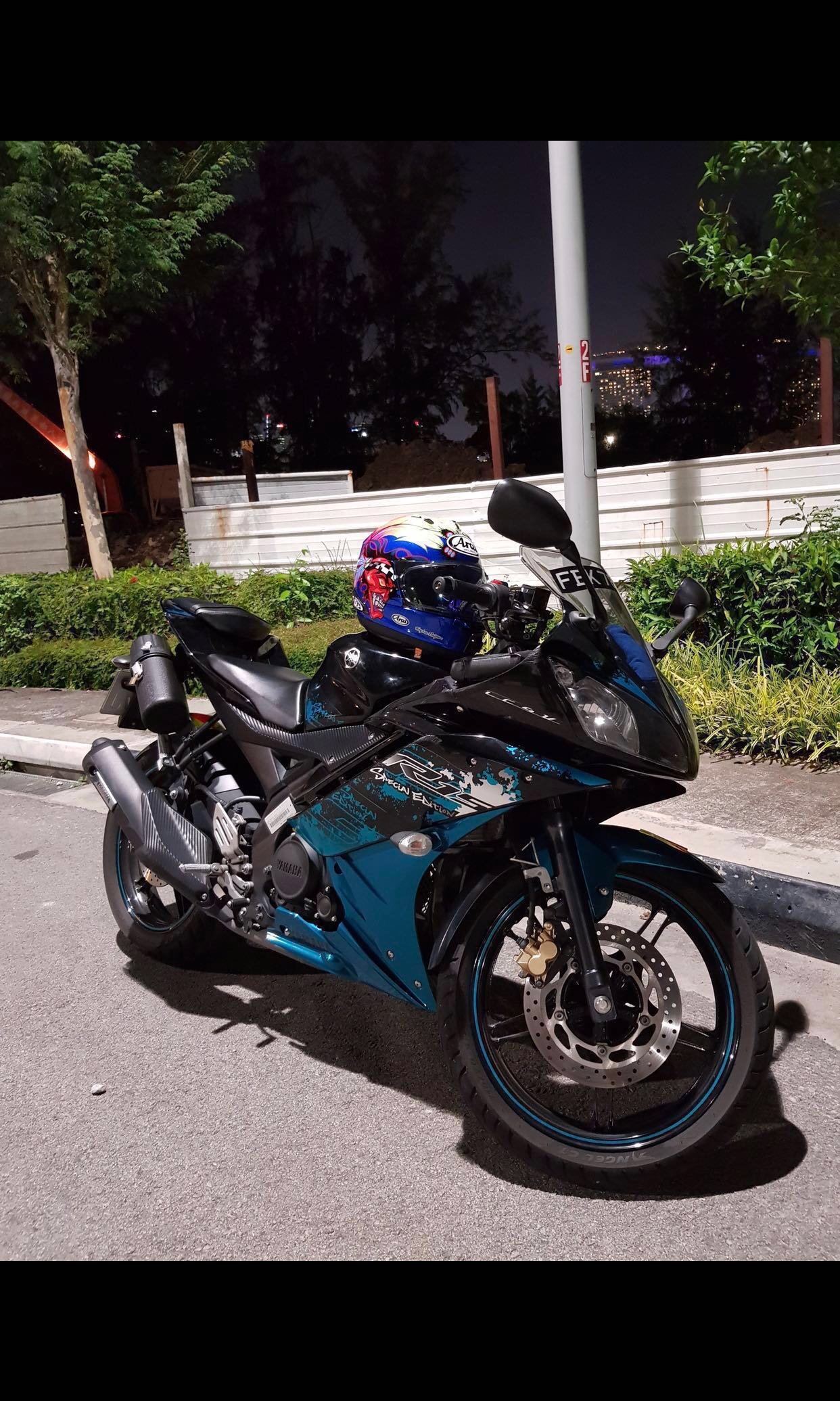 7yrs Coe Price Reduced Yamaha Yzf R15 V2 Special Edition