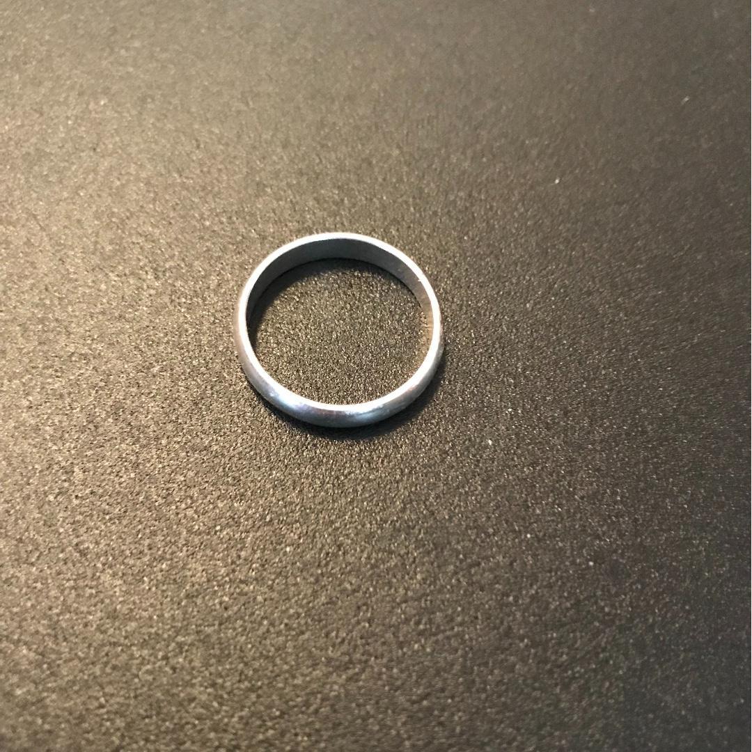 .925 Plain Silver Ring/Band/ Wedding Band