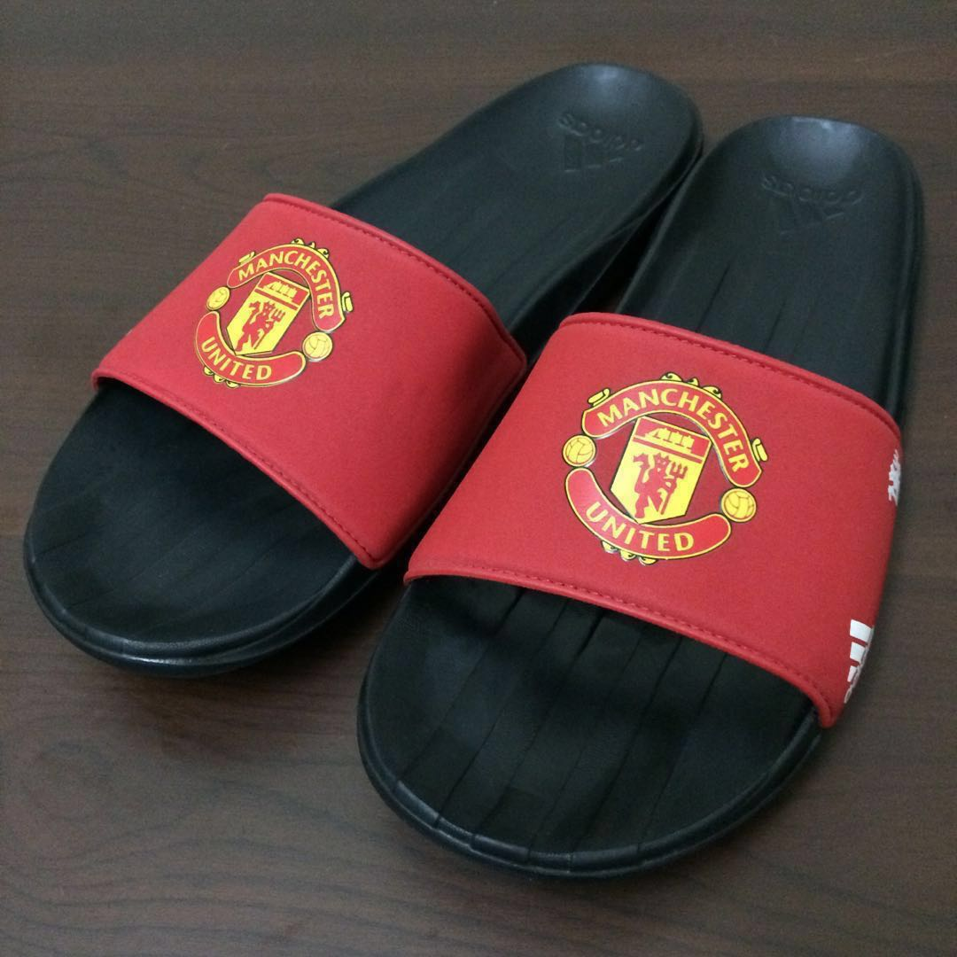 Adidas Carozoon Slides Manchester United FC Sandal Men S