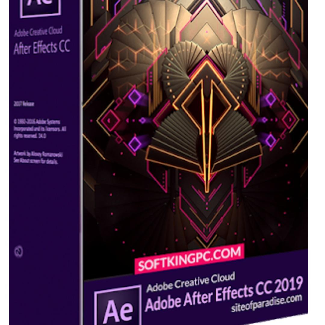 Adobe After Effect CC 2019 on Carousell