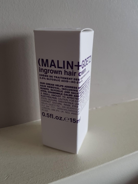 Brand new malin & goetz ingrown hair cream