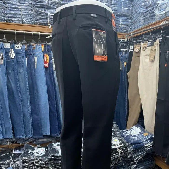 Celana Chino, Celana Formal Hitam, Celana bahan untuk Kerja