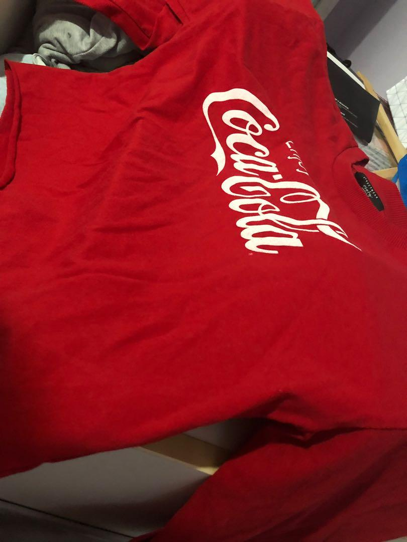 Coco-Cola Crop Sweater