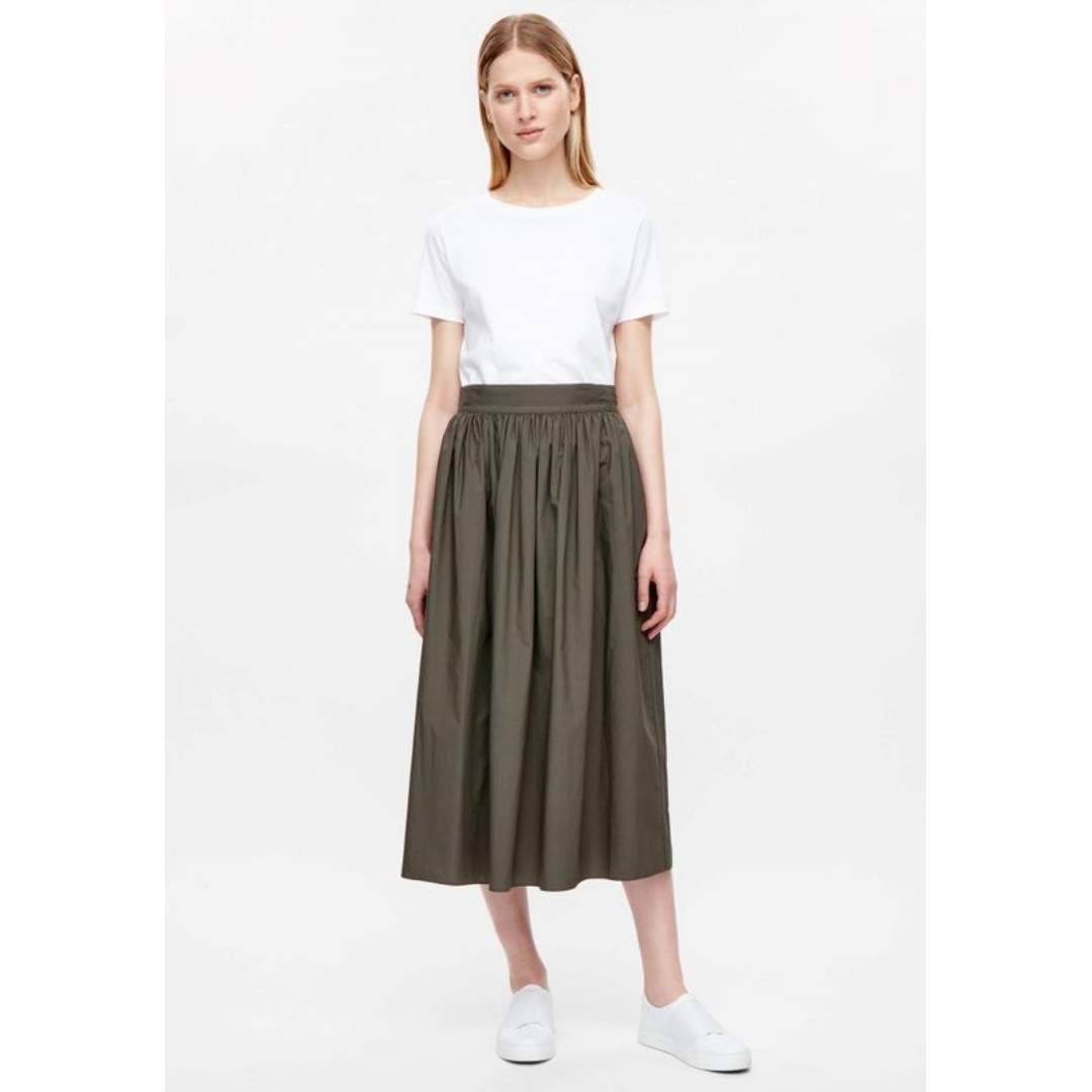 786795603d COS inspired poplin maxi skirt, Women's Fashion, Clothes, Dresses ...