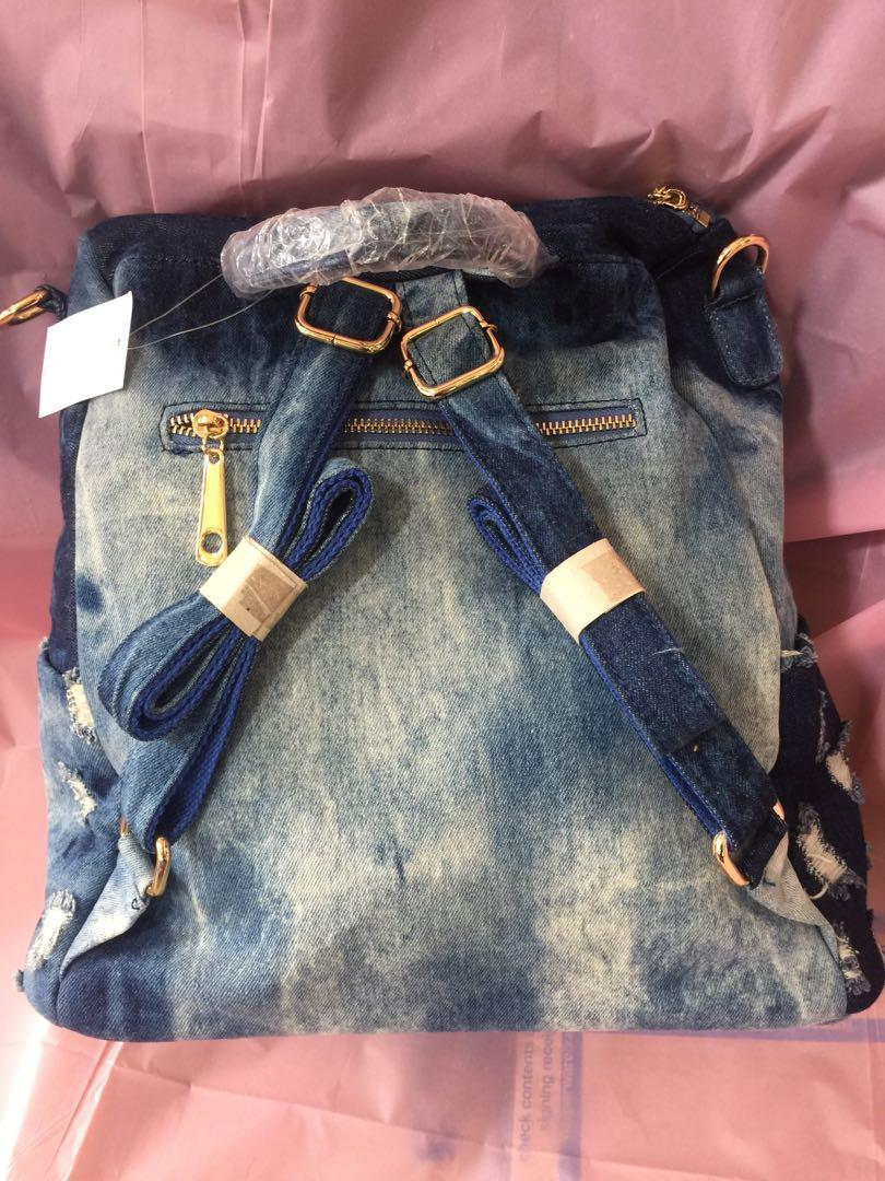 Demin backpack