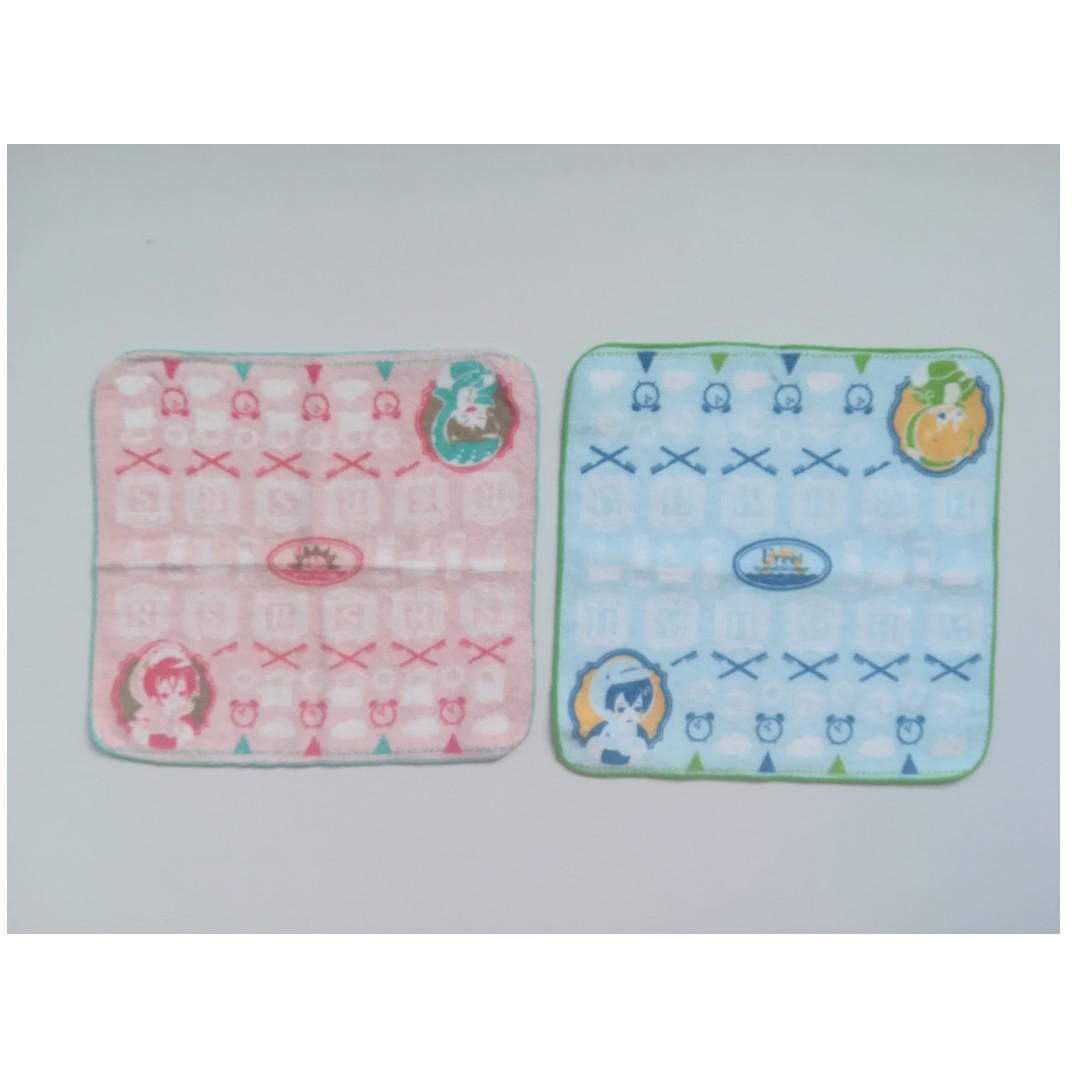 Free! -Eternal Summer- - Matsuoka Rin & Yamazaki Sousuke / Nanase Haruka & Tachibana Makoto - Mini Towel