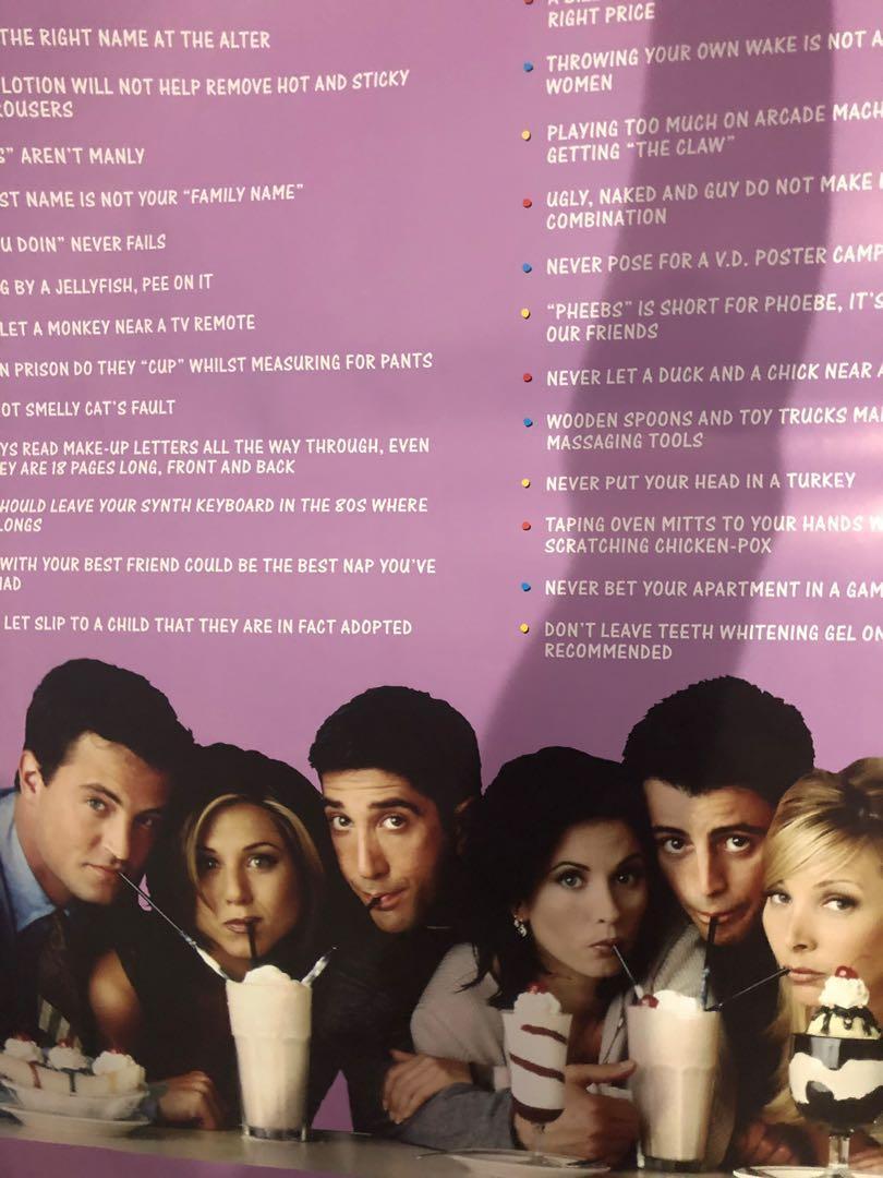 Friends Poster & Rihanna Poster