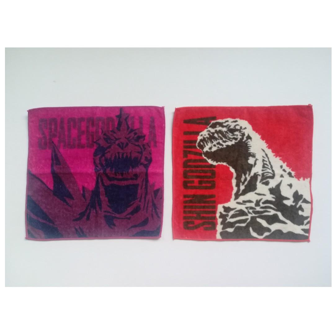 Godzilla - Space Godzilla / Shin Godzilla - Hand Towel / Mini Towel