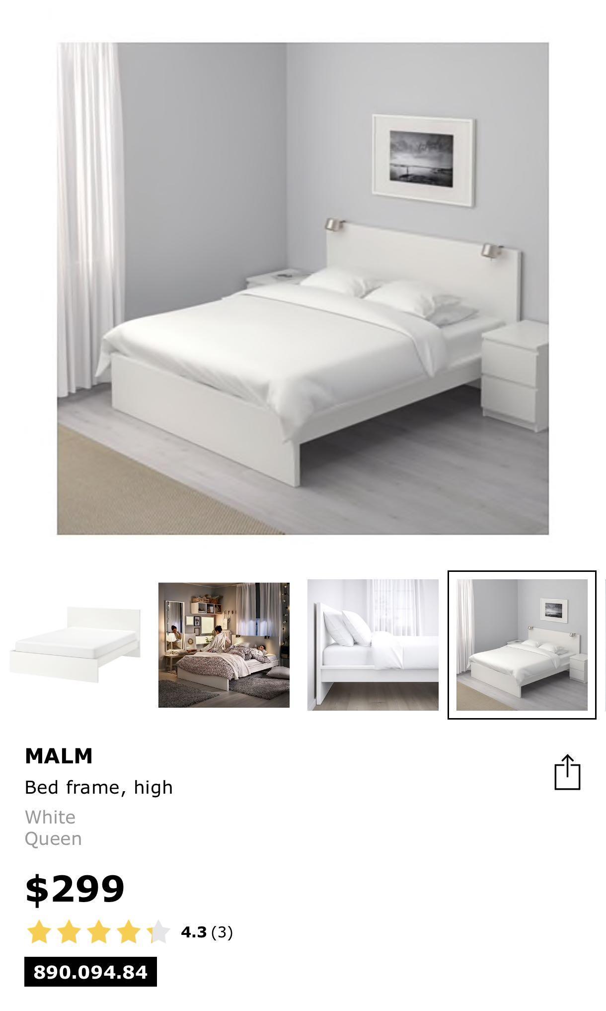 IKEA Malm Bedframe