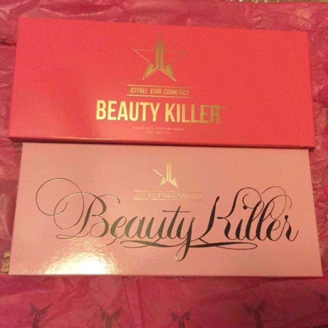 JEFFREE STAR BEAUTY KILLER EYE SHADOW PALETTE BRAND NEW & AUTHENTIC (NO SWAPS.PRICE IS FIRM)