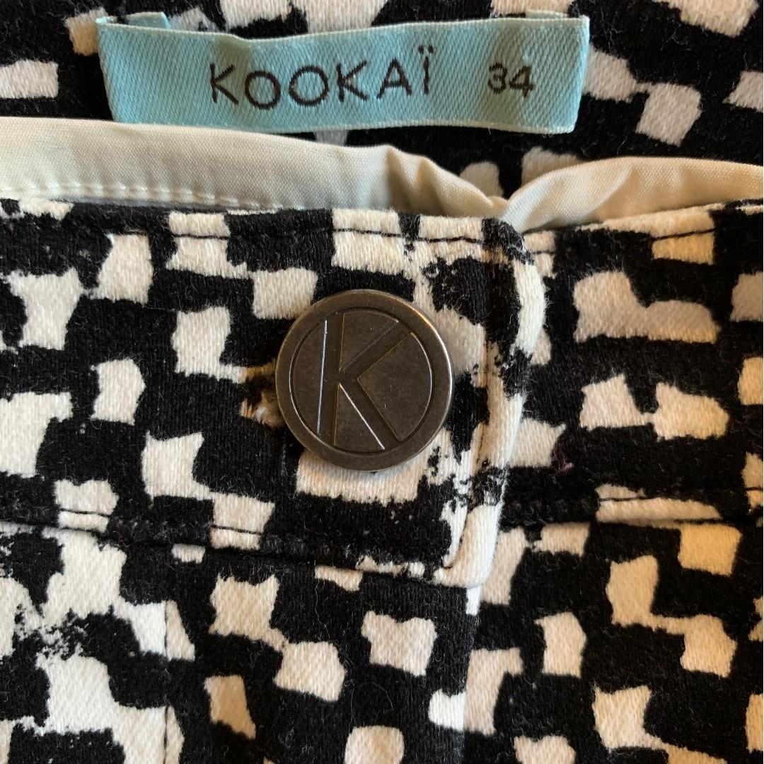 Kookai black and white Skinny leg jeans Size 6 (34)