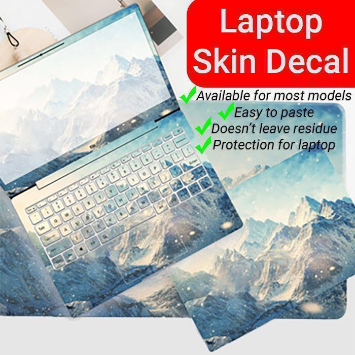 Laptop Skin Decal/Sticker