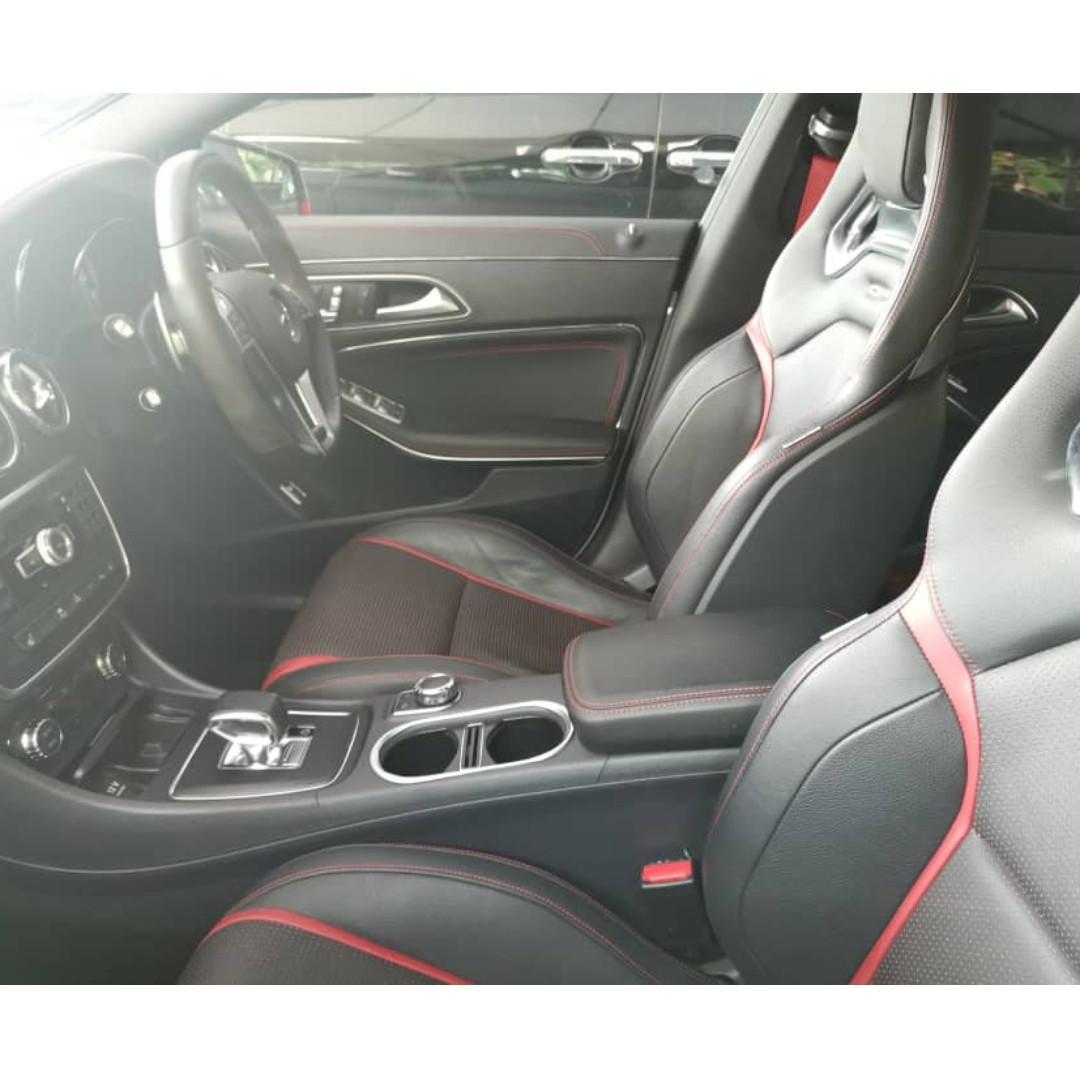 Mercedes Benz CLA45 AMG Full Carbon Fiber Unreg. Golf A45 CLA250 Audi