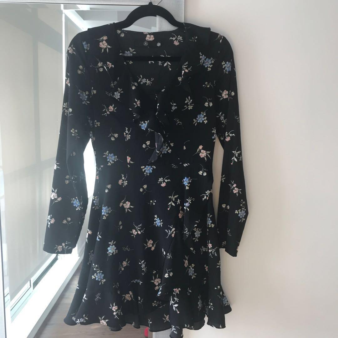 Missguided Flower print dress