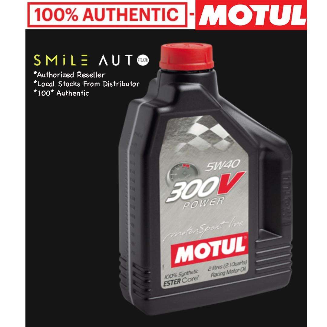 Motul 300V 0W20 5W30 5W40 10W40 15W50 Engine Oil (Please