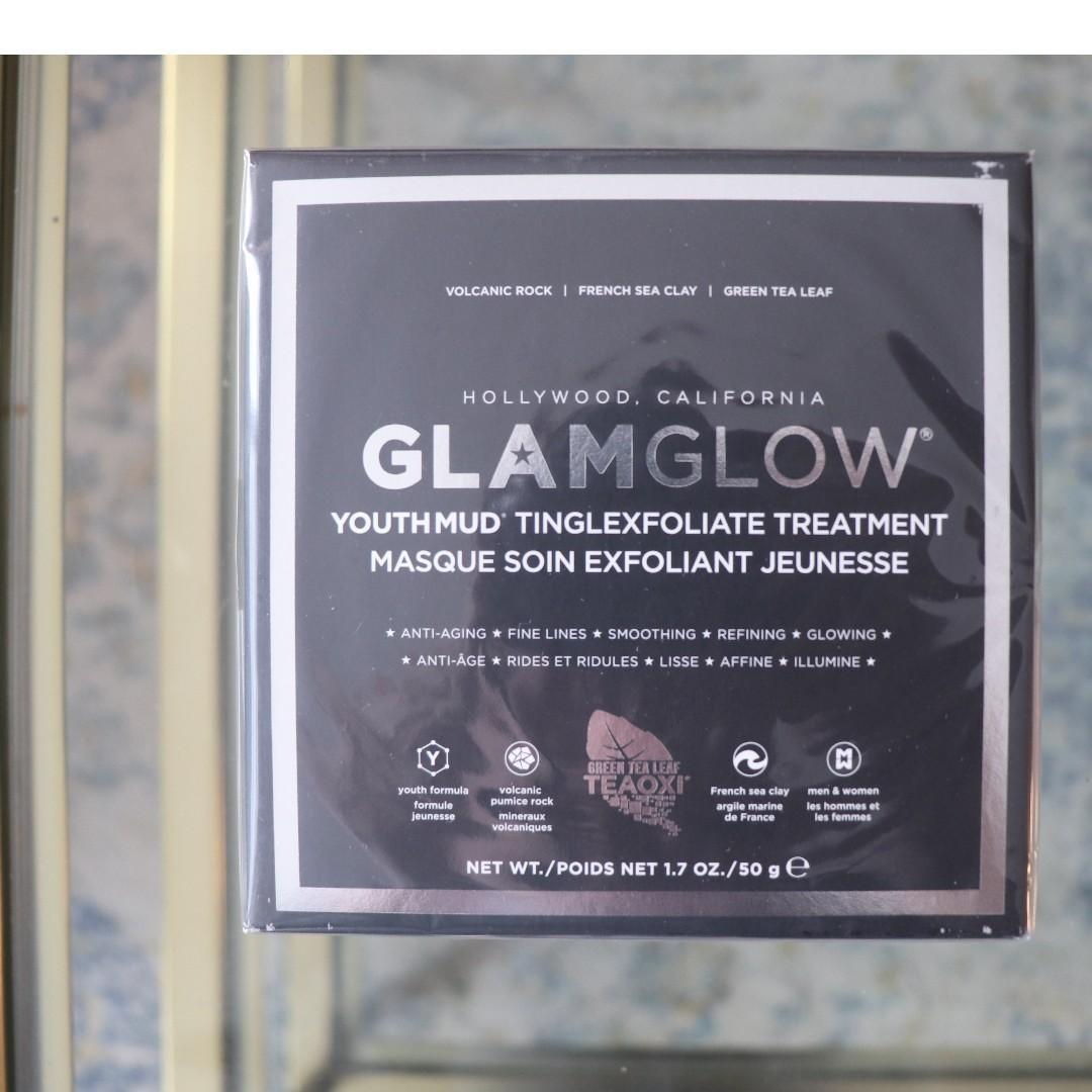 NEW Glamglow Youthmud Tinglexfoliate Treatment Full Size