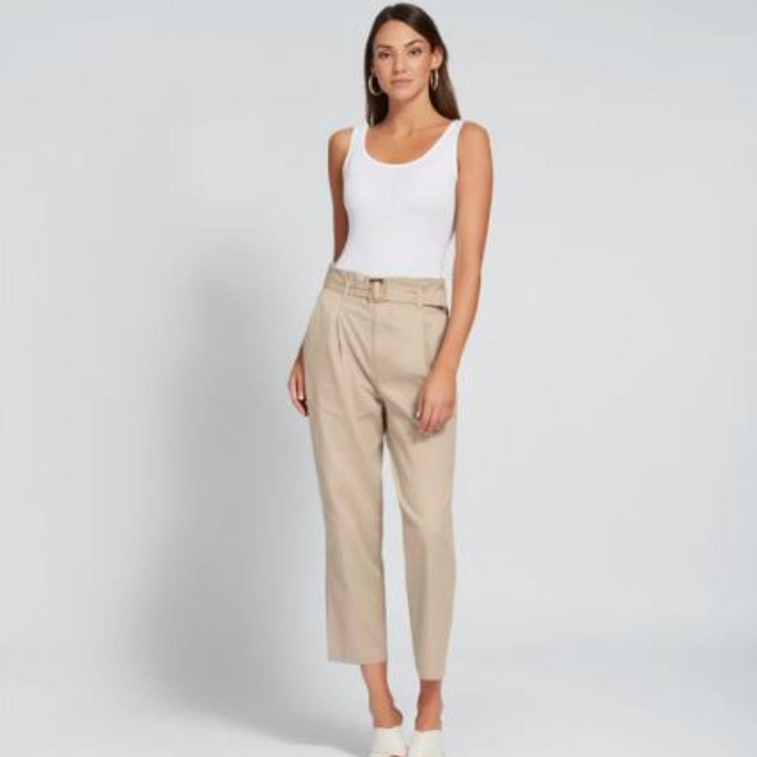 New! Seed Heritage Buckle Detailed Pants, Size 8, RRP$119.95