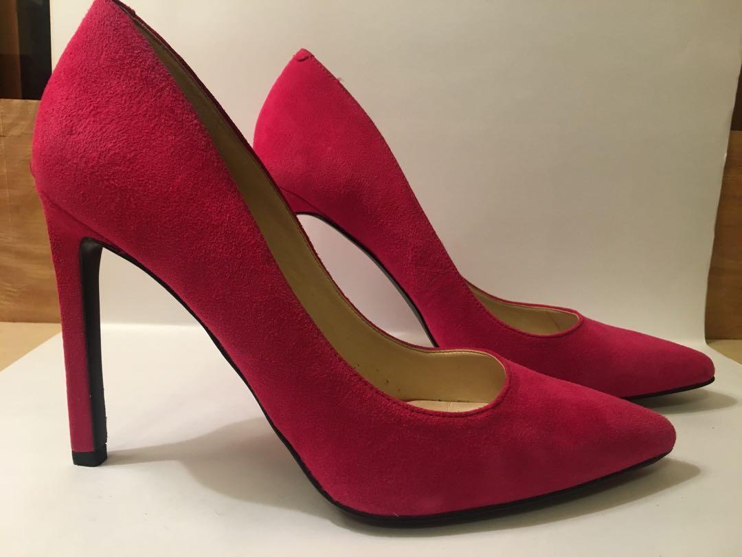 Nine West hot pink heels, Women's