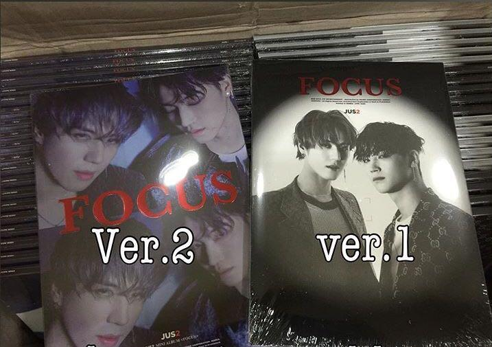 [Preorder] [GOT7 Unit] Jus2 Mini Album - FOCUS CD + POSTER
