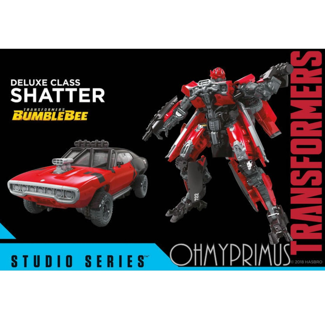 Hasbro Takara Tomy Transformers Studio Series Deluxe - SS-40 SS40 Bumblebee  Movie : Shatter