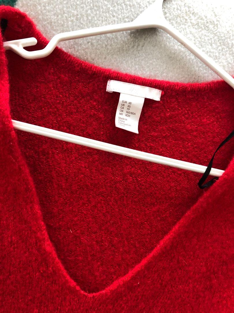 Red Knit H&M