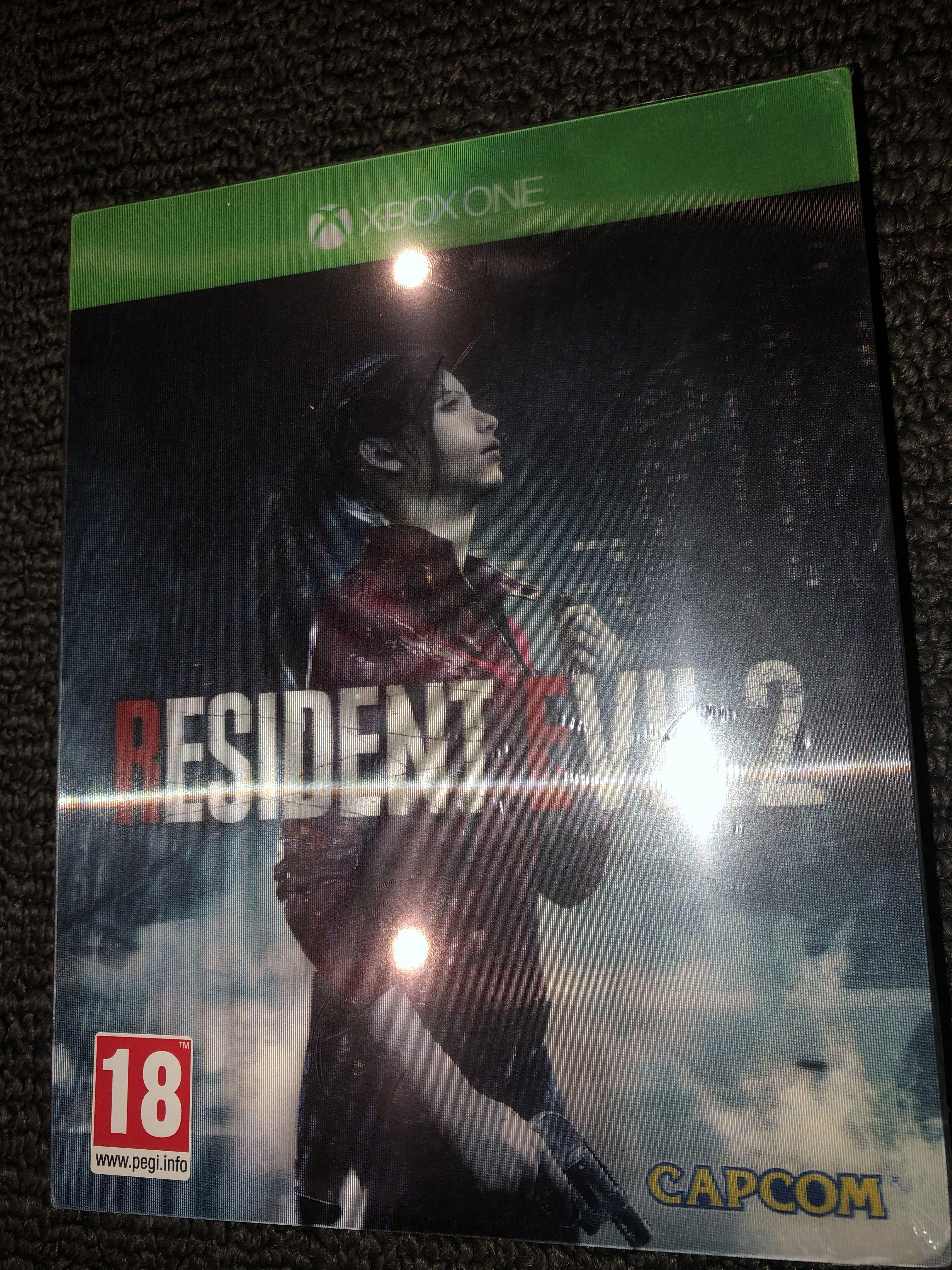 Resident Evil 2 Remake (Lenticular Edition) Brand New Sealed and Unopened