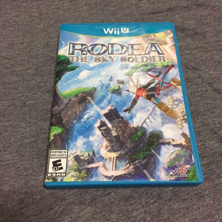 Rodea Sky Soldier Wii U