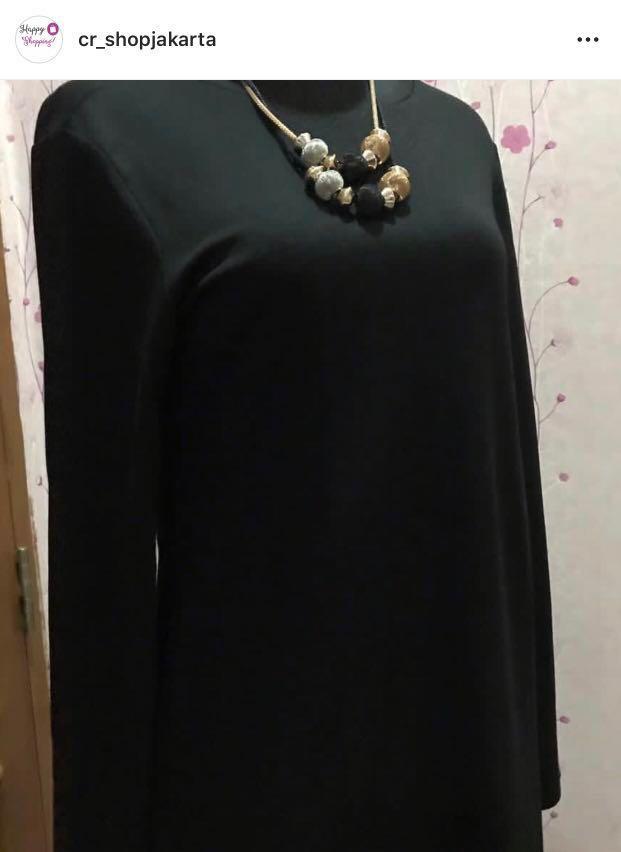 SALE!! Diskon Zara Dress warna hitam