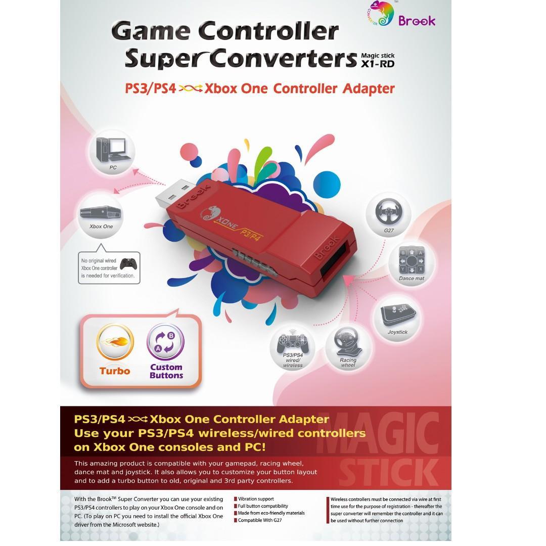 SG Seller Brook Design - X1-RD Game Controller Super Converters
