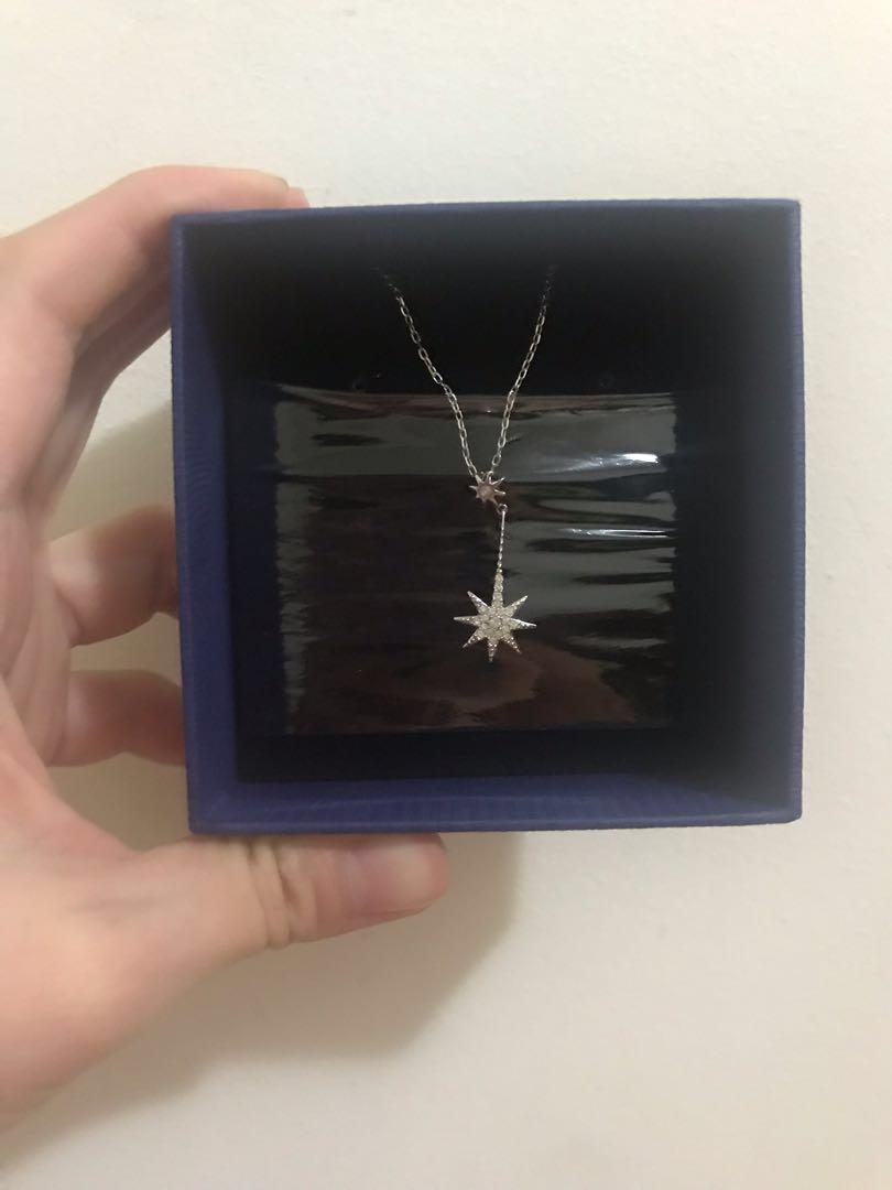 Swarovski Frizzy shooting star Pendant necklace brand new with package genuine