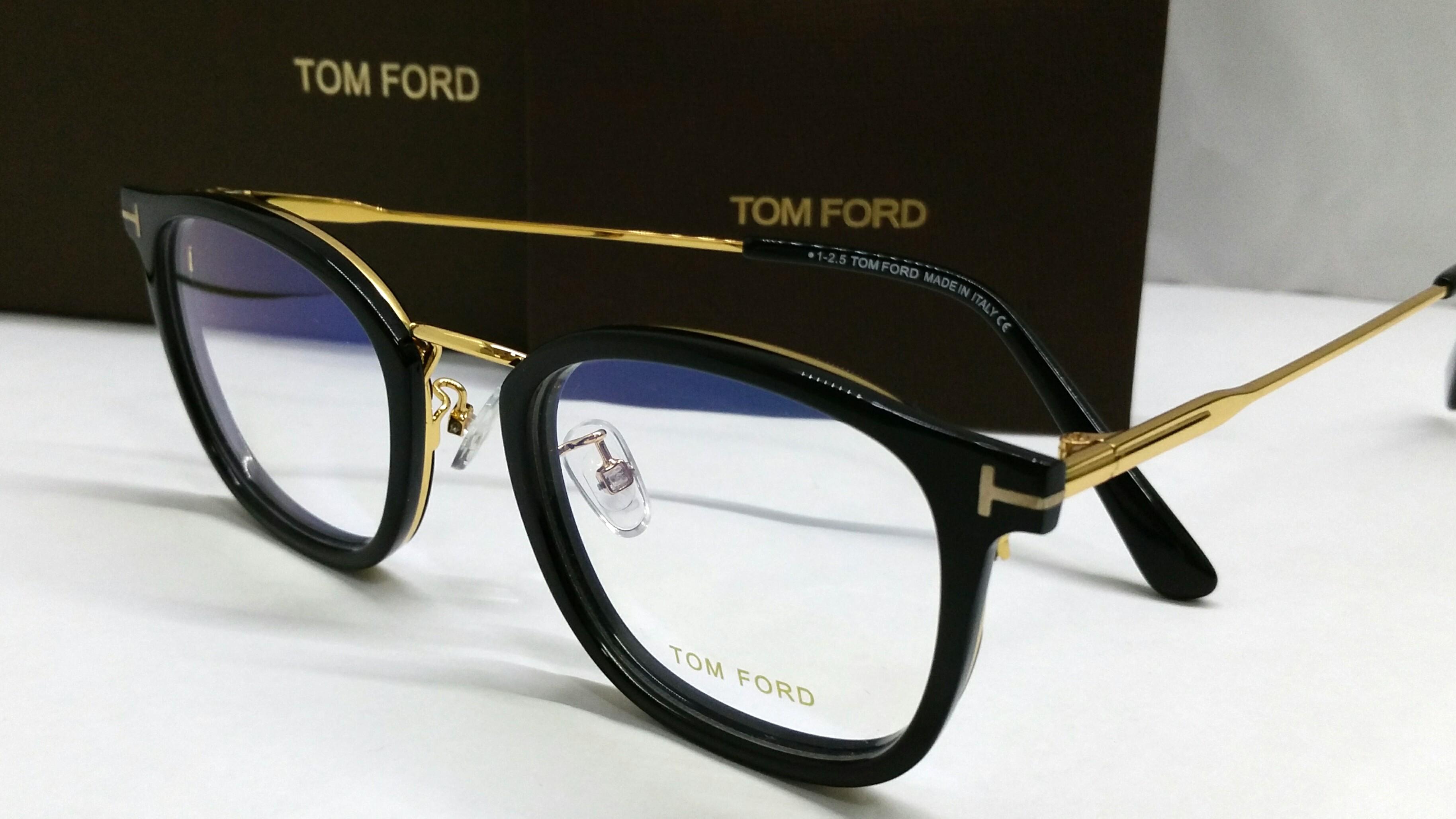 c2185c45b8d5 Tom Ford spectacles eyewear TF5568K Gold Black