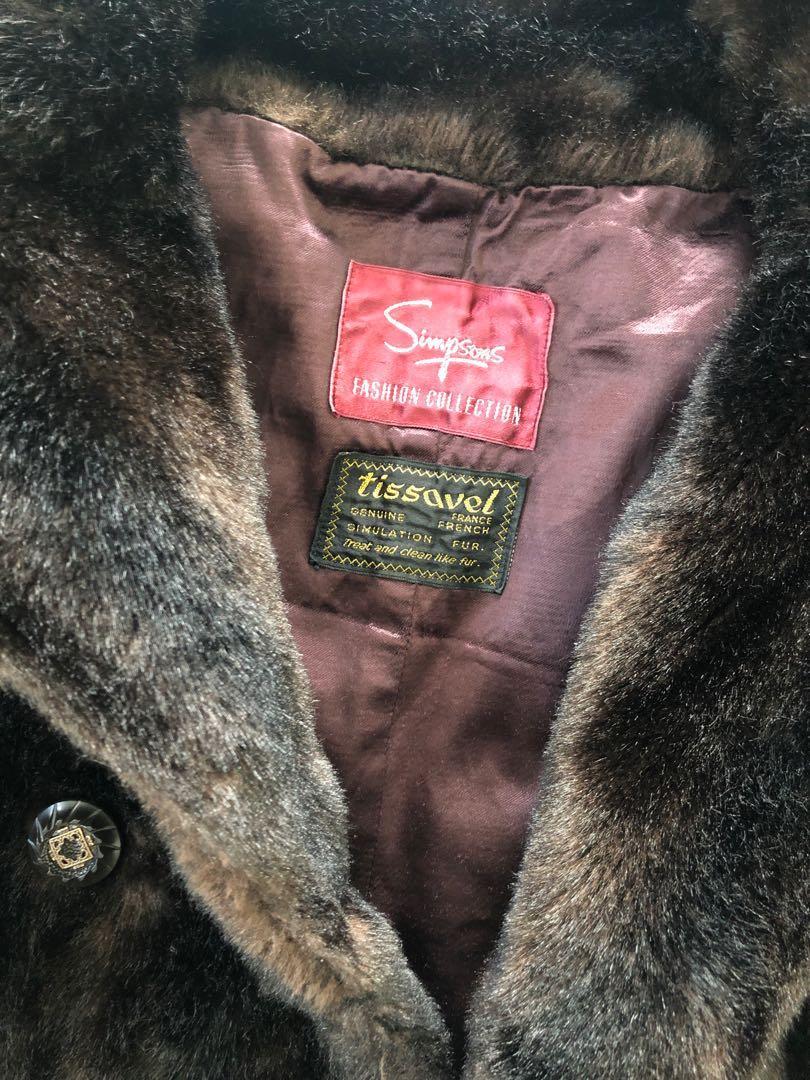Vintage Fur (faux) Coat