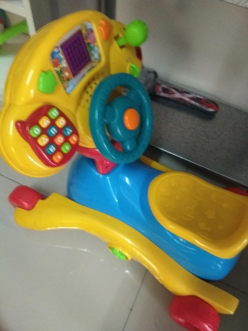 Vtech go and grow rocker (3 in 1)