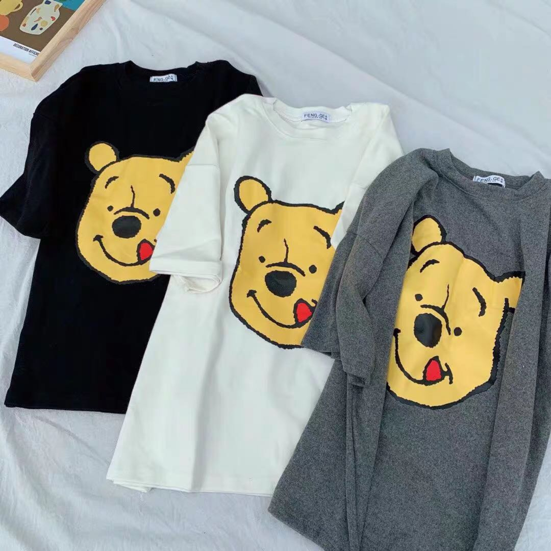 c0bfc028787e Winnie the Pooh Stick Out Tongue Tee, Women's Fashion, Clothes, Tops ...