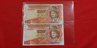 $10 Malaysia 1982
