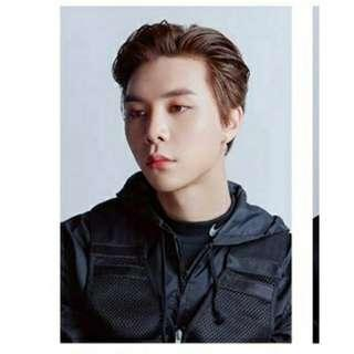 NCT 127 JOHNNY MJ LET'S SHUT UP AND DANCE PHOTOCARD