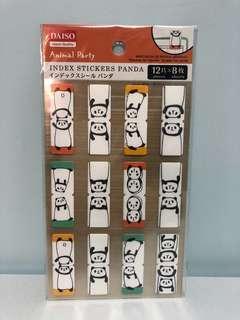 Index stickers