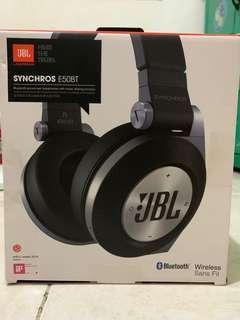 Original Resmi JBL Headphone Synchros E50BT Wireless Bluetooth Headset