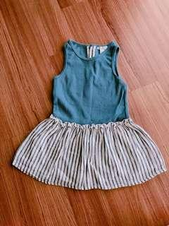 Marc & Janie blue baby girl dress