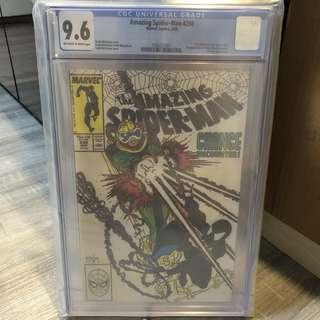 Amazing Spider-Man 298 Cgc 9.6 ( 1st Eddie Brock Venom & Todd McFarlane spiderman )