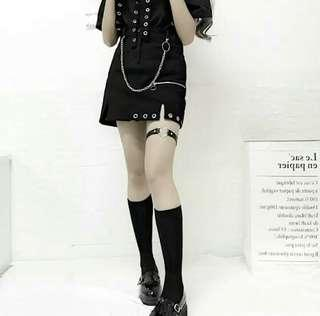 (AVAILABLE NOW) Bottom Ring Chained Skirt