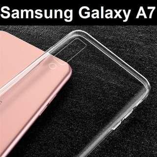 Samsung Galaxy A7 (2018) Transparent Crystal Clear Case