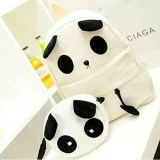 Panda 2 in 1 backpack