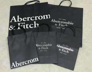 🚚 Abercrombie & Fitch Paper bag