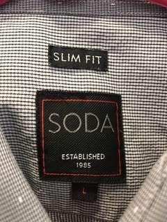 VERY GOOD CONDITION Soda Shirt